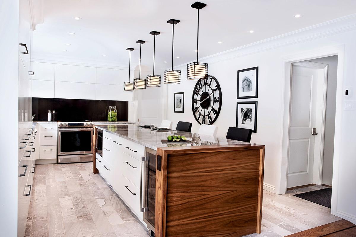 Photographie immobilère, photographie de cuisine à Montréal. Agence BeeCom