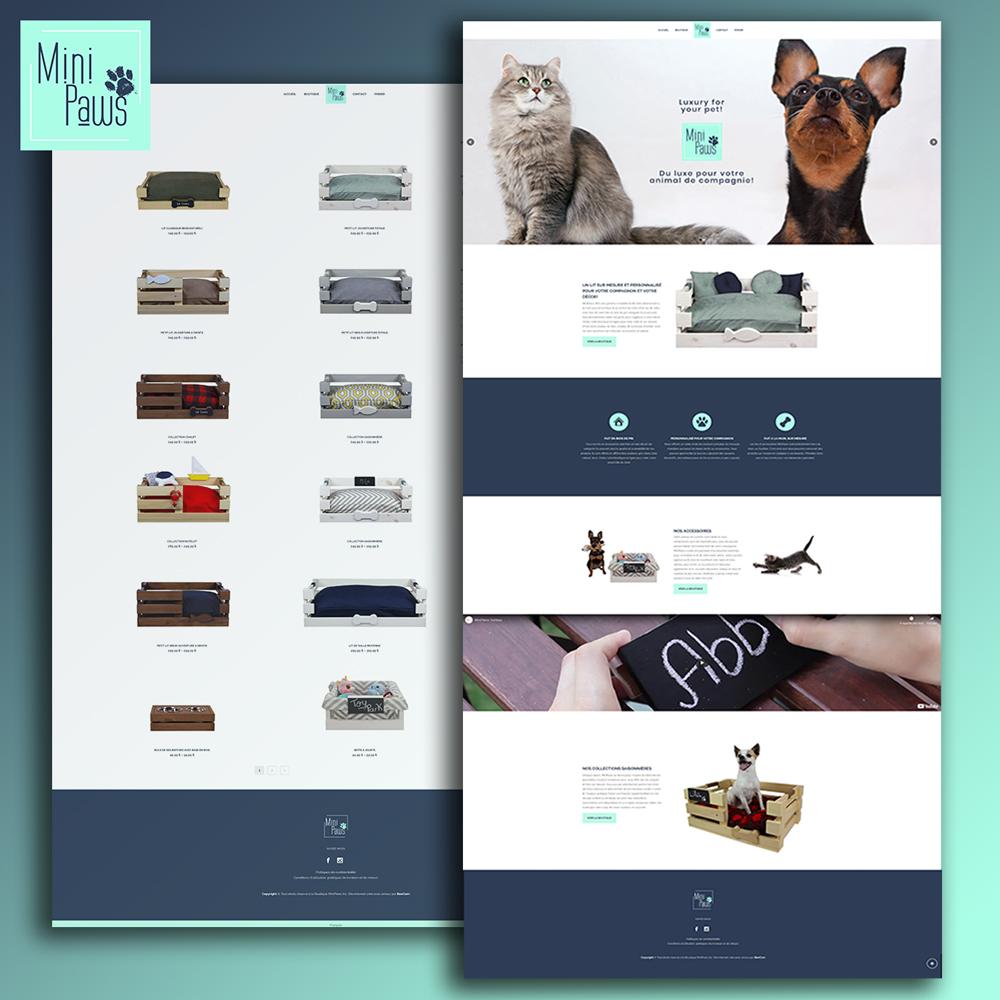 Création de site internet e-commerce avec WooCommerce sur WordPress